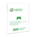 Xbox 360 Live 800 Points - Prepaid Card